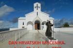 Najava Dana hrvatskih mučenika